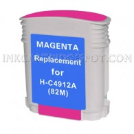 HP C4912A / HP 82 Magenta Compatible Ink Cartridge - 3,200 Page Yield
