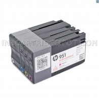 HP 950 Bk + 951 C/M/Y Setup Cartridge Officejet 8100 / 8600 / 8610 / 8620 / 8630