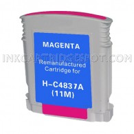 Hewlett Packard C4837AN / C4837A (HP 11 Magenta) Compatible Ink Cartridge - 1,200 Page Yield