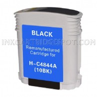 Hewlett Packard C4844A (HP 10 Black) Compatible Ink Cartridge - 3,700 Page Yield