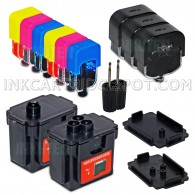 INKUTEN DIY Do-It-Yourself HP 901 HP 901XL COMPLETE Ink Refill System