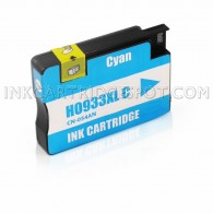 HP 933XL (CN054AN) Professionally High Yield Cyan Inkjet Cartridge