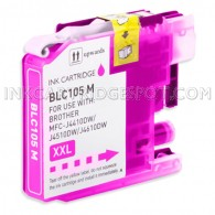 Brother Compatible LC105M Super High Yield Magenta Ink Cartridge