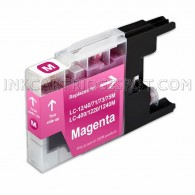 Brother Compatible LC75M/LC71M High Yield Magenta Ink cartridge - 600 Page Yield
