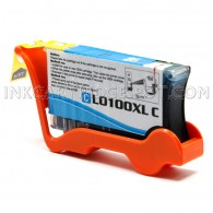 Compatible Replacement for Lexmark 14N1069 / 100XL High Yield Cyan Ink Cartridge