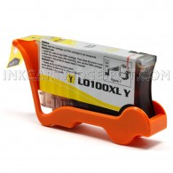 Compatible Replacement for Lexmark 14N1071 / 100XL High Yield Yellow Ink Cartridge