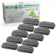 10 Pack Compatible MLT-D115L (MLT-D115S) High Yield Toner Cartridges