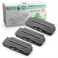 3 Pack Compatible MLT-D115L (MLT-D115S) High Yield Toner Cartridges