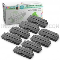 8 Pack Compatible MLT-D115L (MLT-D115S) High Yield Toner Cartridges