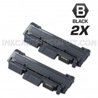 2 Pack Compatible Samsung MLT-D116L (MLT-D116S) High Yield Toner Cartridges