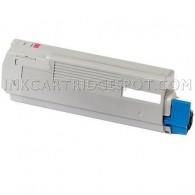 Okidata C710 Compatible 43866102 Magenta Laser Toner Cartridge