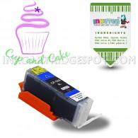 Edible Ink Cartridge For PGI-250 250XL Black (1-Pack) for Pixma MG6620, Pixma MG5520, Pixma MG6820, Pixma IP7220