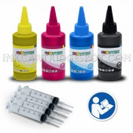 INKUTEN HP Ink Refill Tool for 932XL 933XL 932 933 Ink cartridges 4x100ml USA pigment ink Refill Kit - Compatible With Officejet 6100 6600 6700 7110 7510 Printer