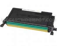 Replacement Dell 330-3790 High Yield Yellow Toner Cartridge for the 2145cn Printer  - 5000 Page Yield