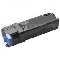 Replacement Dell D6FXJ / 331-0718 High Yield Yellow Toner Cartridge for your Dell 2150 & 2155 Color Laser Printers - 2500 Page Yield