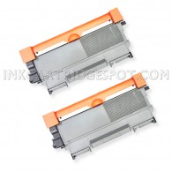 Compatible Brother Set of 2 TN450 High Yield Toner Cartridges - 5200 Page Yield