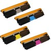 Replacement Xerox Phaser 6120/6115MFP Set of 4 High Capacity Laser Toner Cartridges